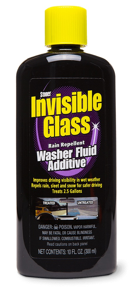 Stoner ST-WFA Invisible Glass Car Van Crystal Clear Washer Fluid Cleaner Additive