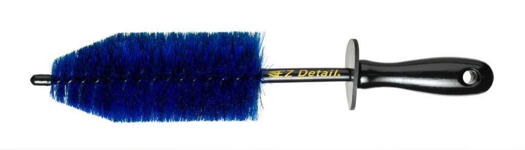 "EZ Detail EZBS 13"" Small Wheel Door Shuts Engine Car Motorbike Cleaning Brush"