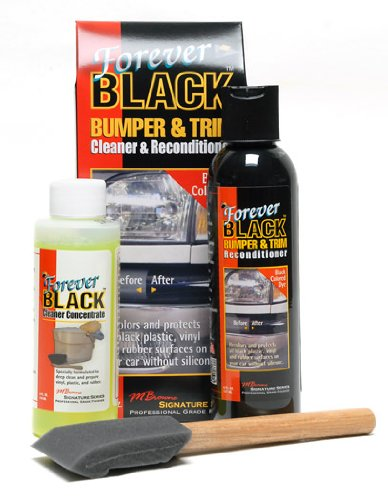 Forever FB-KIT Car Detail Bumper Trim Cleaner Reconditioner Dye Back to Black