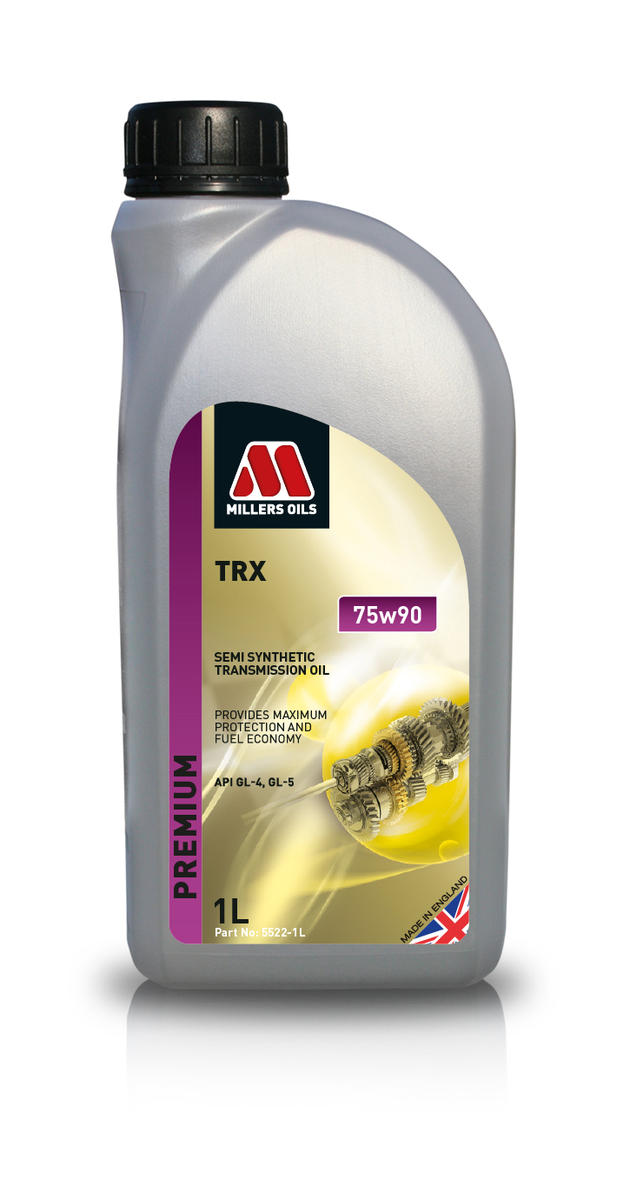 Millers Oil 5522JN Semi Synthetic TRX 75W90 1 Litre Transmission Oil