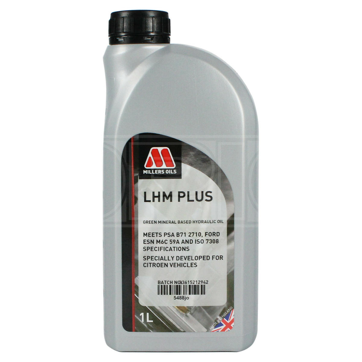 Millers Oil 5488JN Mineral Based LHM PLUS Citroen cars 1 Litre Hydraulic Fluid