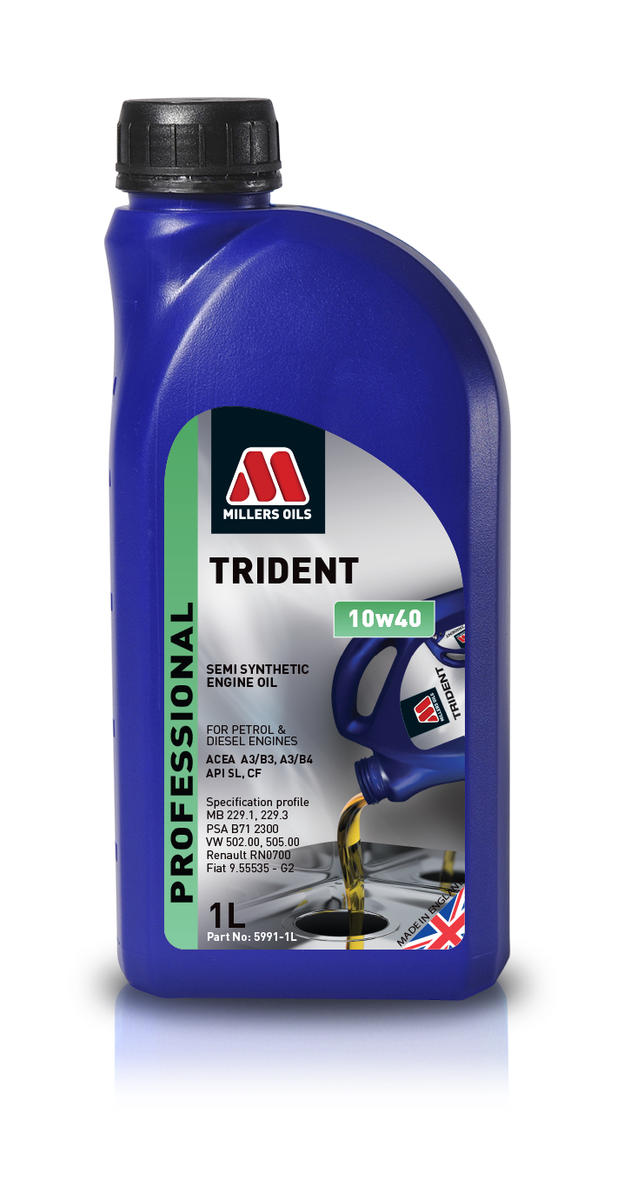 Millers Oil 5991JM Semi Synthetic 10W40 Turbo Charged 1 Litre Engine Oil