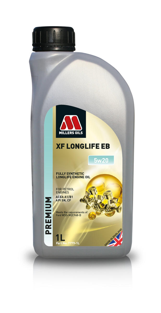 Millers Oil 7779JE Fully Synthetic EB 5W20 Fiesta Focus C-Max 1 Litre Engine Oil