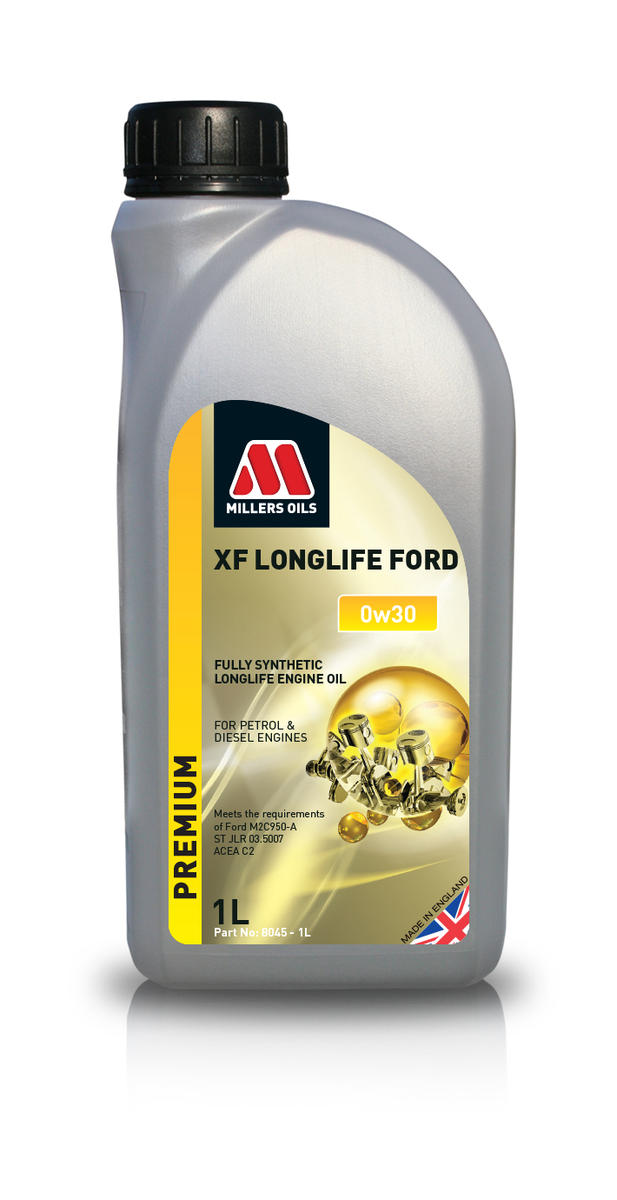 Millers Oil 8045JE Fully Synthetic 0W30 Ford High Performance 1 Litre Engine Oil