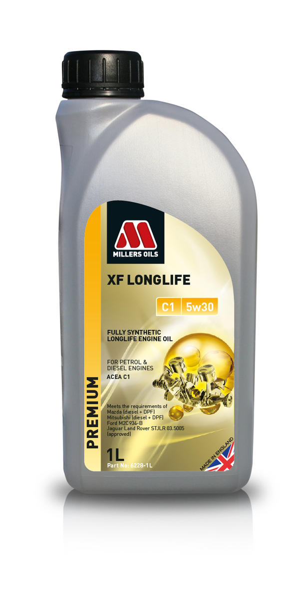 Millers Oil 6228JE Fully Synthetic C1 5W30 Mazda Mitsubishi 1 Litre Engine Oil