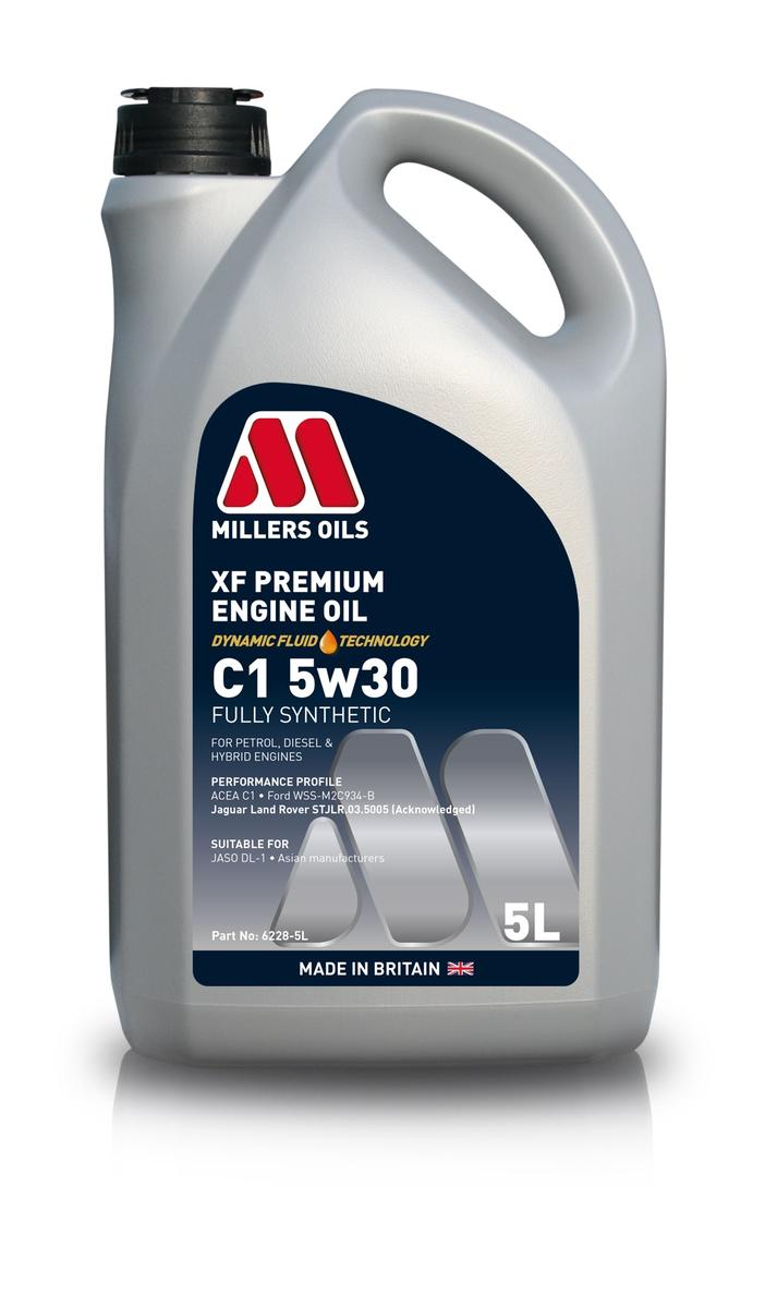 Millers Oil 6228GG Fully Synthetic C1 5W30 Mazda Mitsubishi 5 Litre Engine Oil
