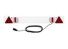 12V 4FT LED Trailer Board Lighting Rear Lamps Indicator 4 Meters 7 Core Cable