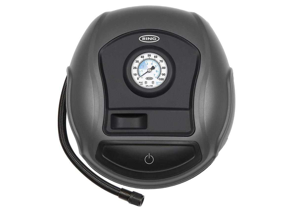12V Portable Analogue Quick Fill Tyre Bed Ball Car Van Inflator Air Compressor
