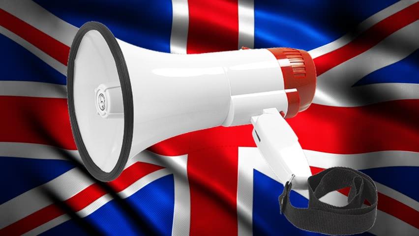 Bassface MP1.1 Have Your Voice No Deal Brexit UK Portable Megaphone Loud Speaker