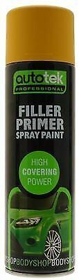 Autotek AT000FP500 Automotive Quick Drying Filler Primer Spray Aerosol Paint