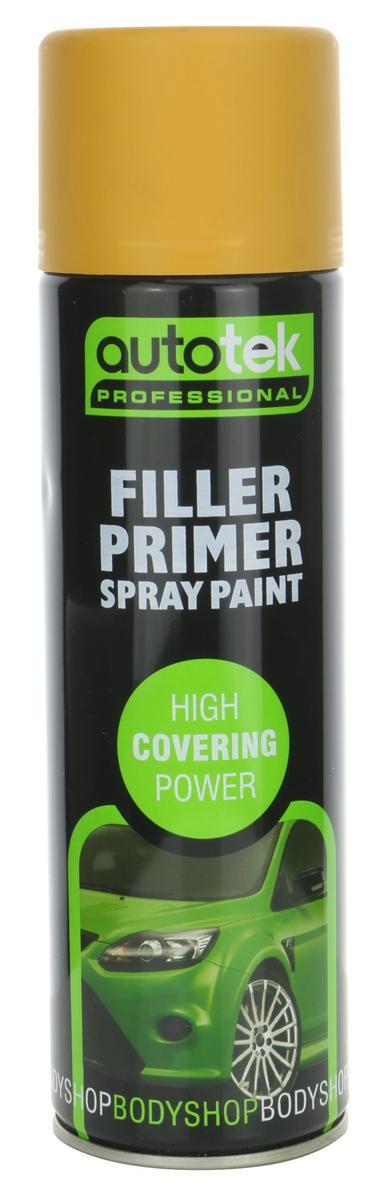 Autotek ATOOOFP500 Automotive Quick Drying Filler Primer Spray Aerosol Paint