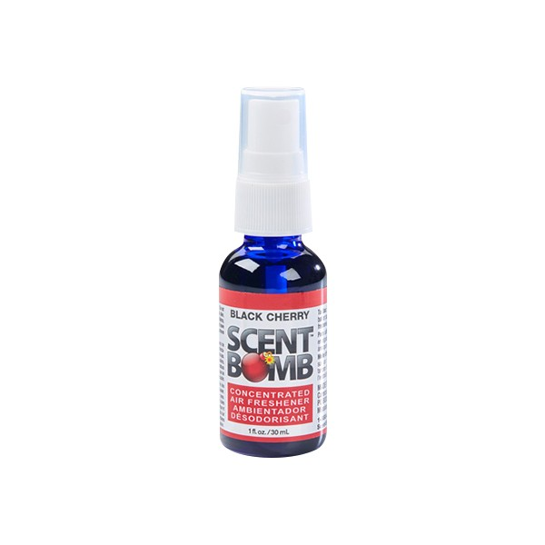 Scent Bomb Long Lasting Black Cherry Scent Car Office Home Air Freshener 30ml