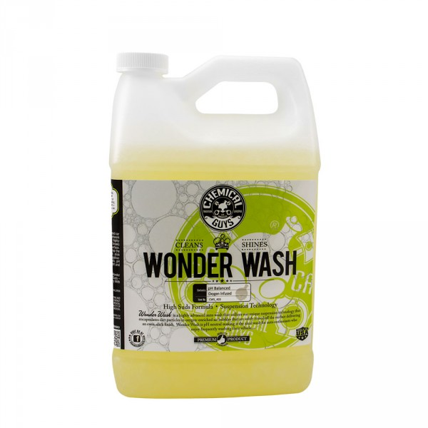 Chemical Guys CWS403 High Concentration High Suds Wonder Wash Car Shampoo 4.55l