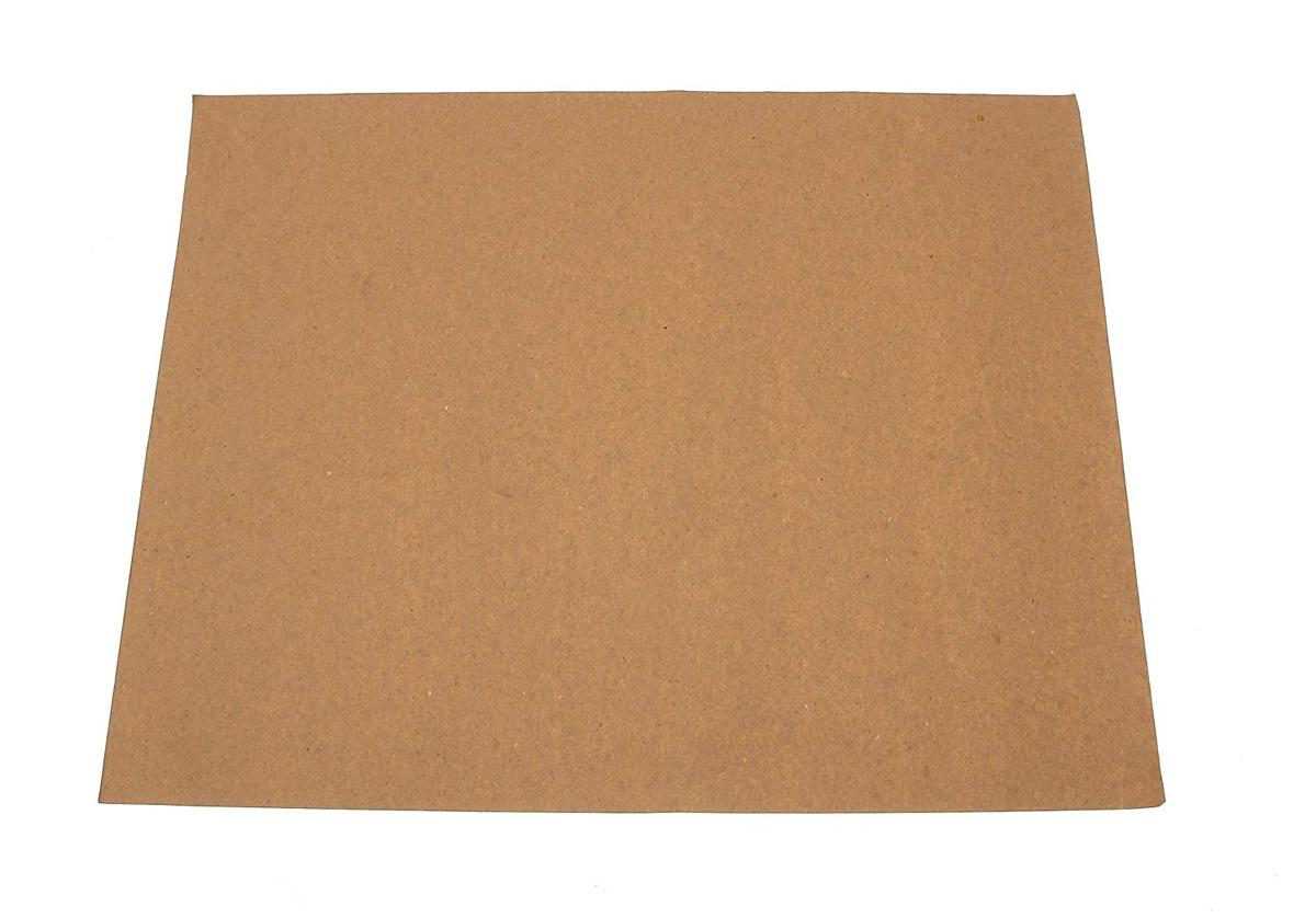 DFMX4 Disposable Car Valenting Brown Paper Mats Pack of 4