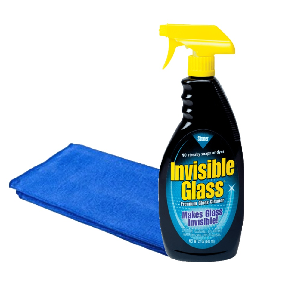 Stoner ST-IGO Invisible Glass Car Van Crystal Clear Windscreen Cleaner With Glass Cloth