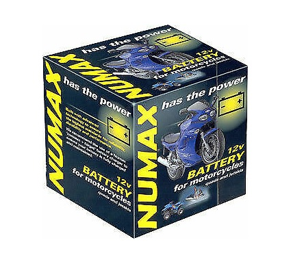 Numax NTS7LBS Suzuki VL125 Intruder Motorcycle Battery