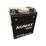 Numax NTS12ALA2 Motorbike Motorcycle Battery APRILLA 200cc Scarabeo YB12AL-A2