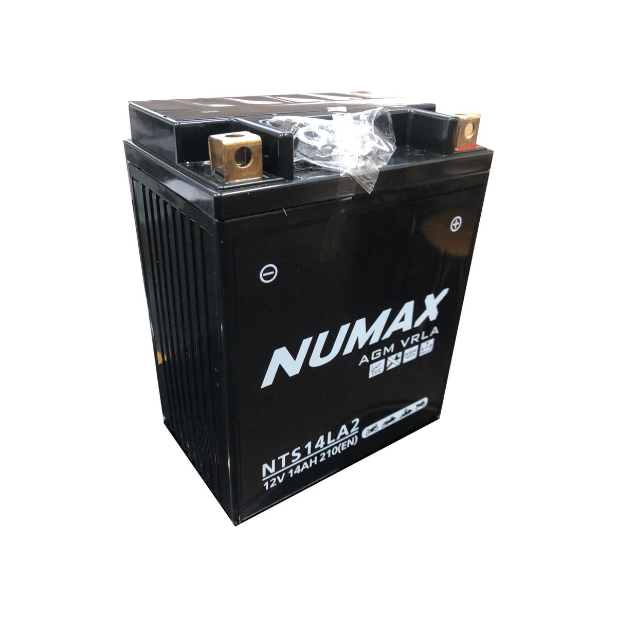 Numax NTS14LA2 MotorBike Motorcycle Battery TRIUMPH 750cc Daytona YB14L-A2