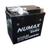 Numax 12v NTS5LBS Motorbike Bike Battery PEUGEOT 100cc Vivacity YTX5L-4