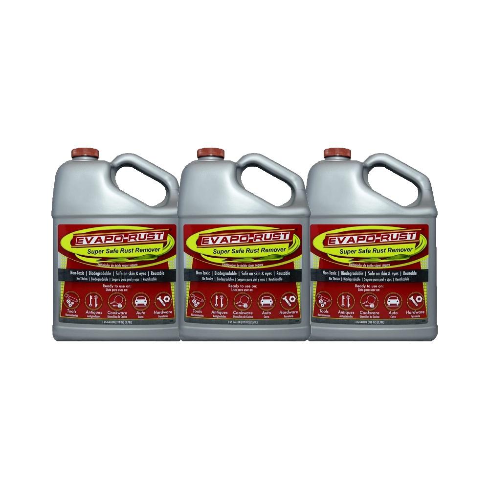 Evapo-Rust Super Safe Water Soluble Rust Remover 3l US Quart Metal Treatment