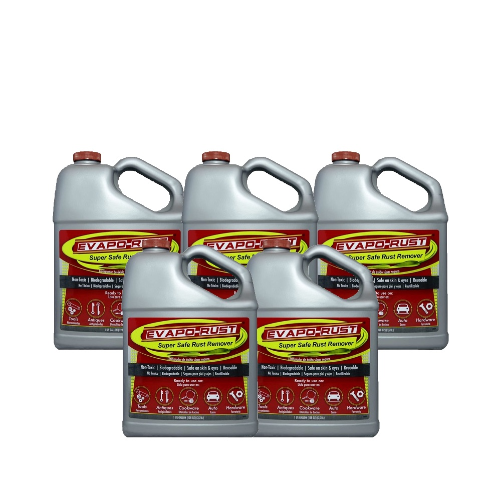 Evapo-Rust Super Safe Water Soluble Rust Remover 5l US Quart Metal Treatment