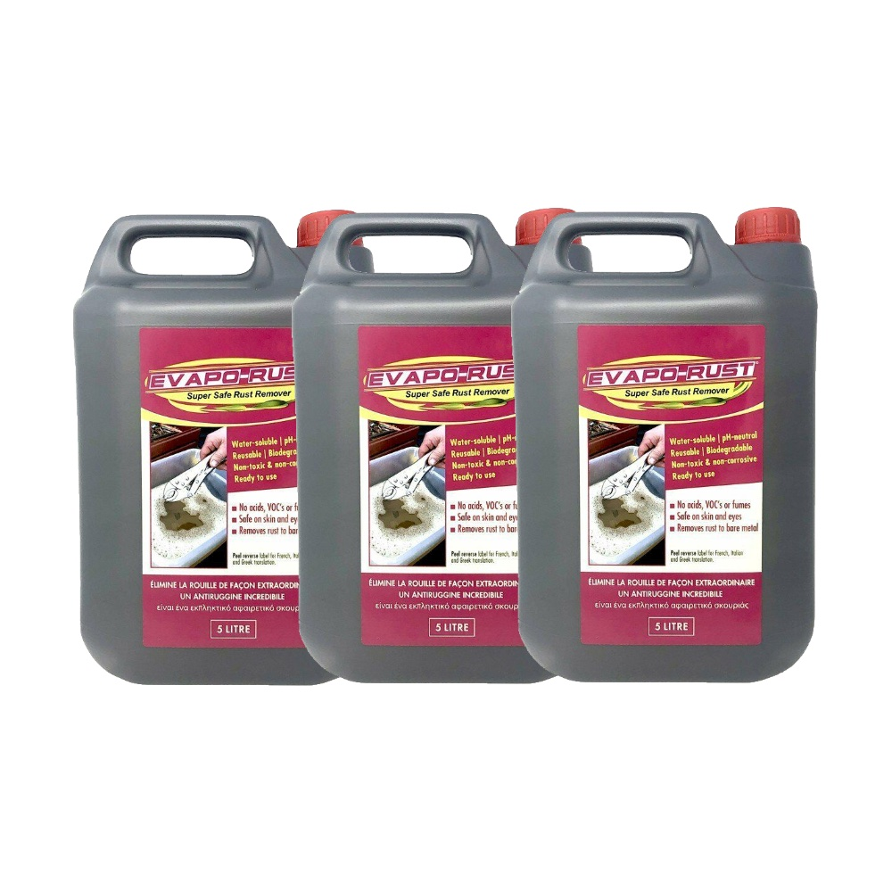 Evaporust Evapo-Rust Remover 15L Safe Rust Remove Metal Treatment