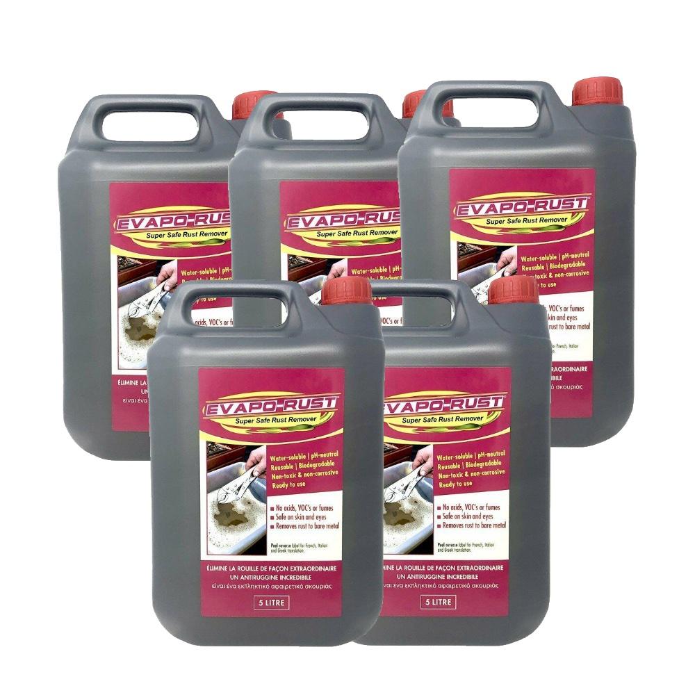 Evaporust Evapo-Rust Remover 25L Safe Rust Remove Metal Treatment