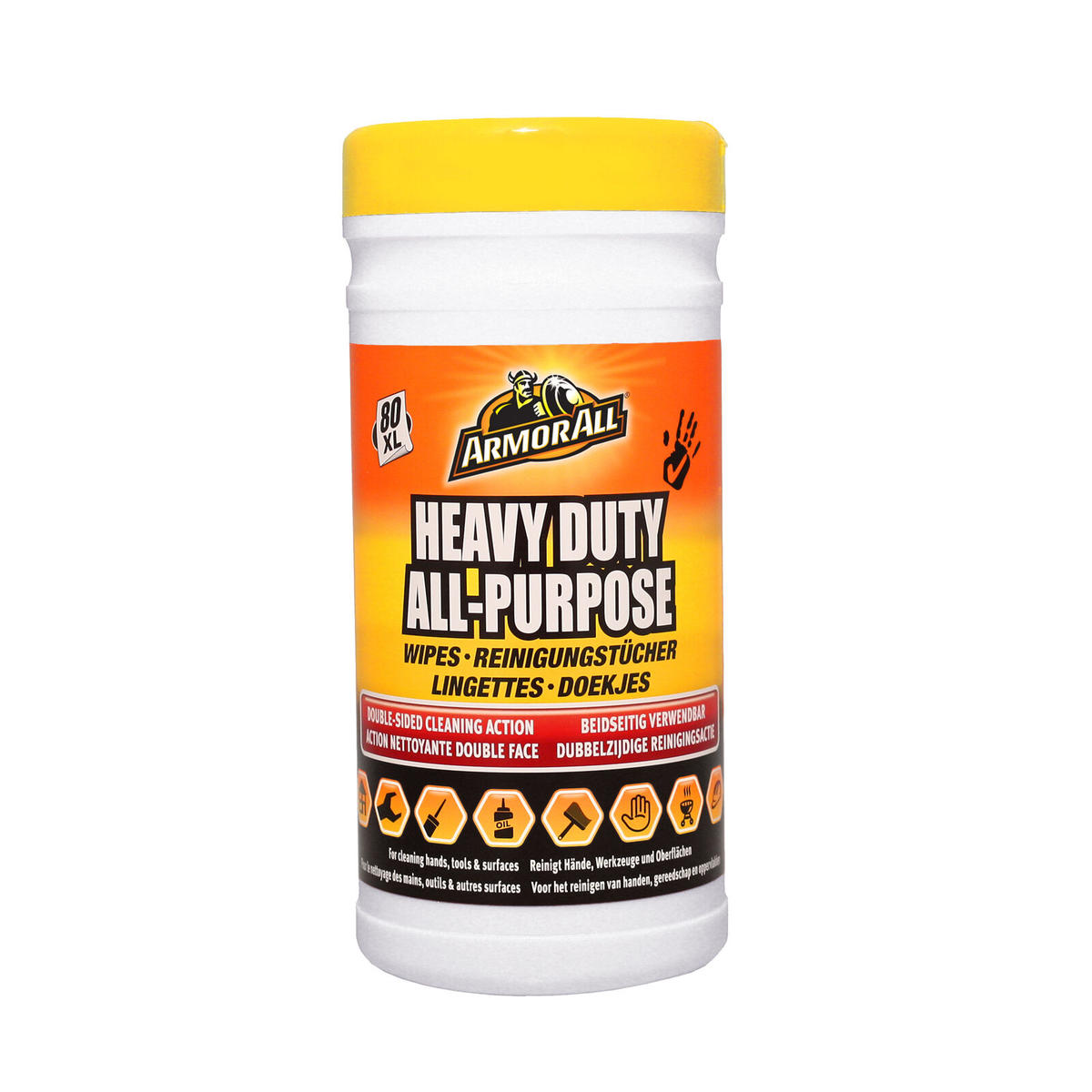 Armorall 80 Heavy Duty All Purpose Home Garage Wipes Removes Grease Oil Paint