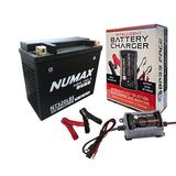NTS20LBS Motorbike Motorcycle Battery HARLEY DAVIDSON 1450cc FXST YTX20L-BS