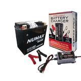 Numax NTS14BS 12v Motorbike Battery BETAMOTOR 1000cc YB10 Dieci YTX14-BS
