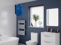 Bassface Funky Blue Coloured Bathroom iPhone MP3 Wall 200w Speakers Amplifier