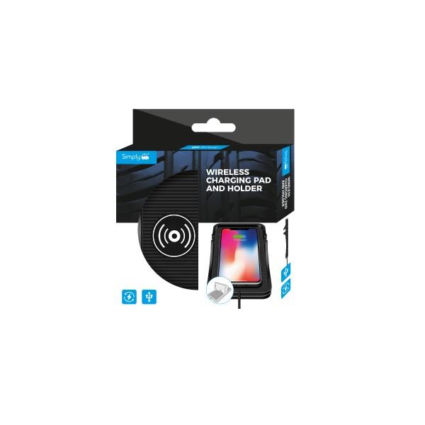 Simply WPH001 Car Van USB Wireless Mobile Phone Charging Mat Single