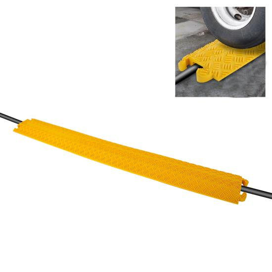 New PCBLCO101 Hassle-Free Cable Protective Cover Ramp, Cord/Wire Protection Track