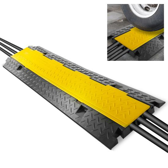 New PCBLCO105 Hassle-Free Cable Protective Cover Ramp, Cord/Wire Protection Track