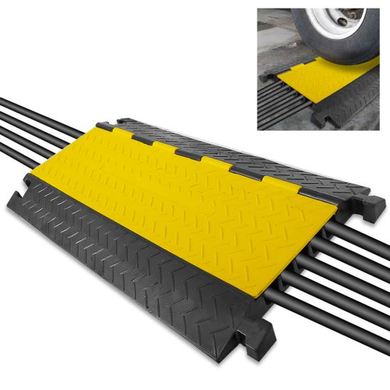 New PCBLCO109 Hassle-Free Cable Protective Cover Ramp, Cord/Wire Protection Track