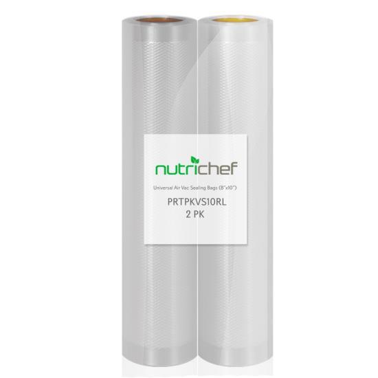 Universal Vacuum Food Preserve Sealer Bags Air Vac Sealing Bags 2 Rolls 20? ft