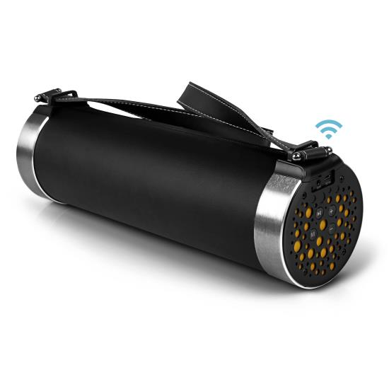 Pyle Portable Wireless FM Radio MP3 Bluetooth Rechargable Boombox Stereo Speaker