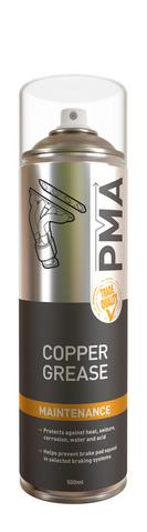Copper Grease Spray Aerosol PMA 500ml High Temp Maintenance Spray NonDrip COPGR