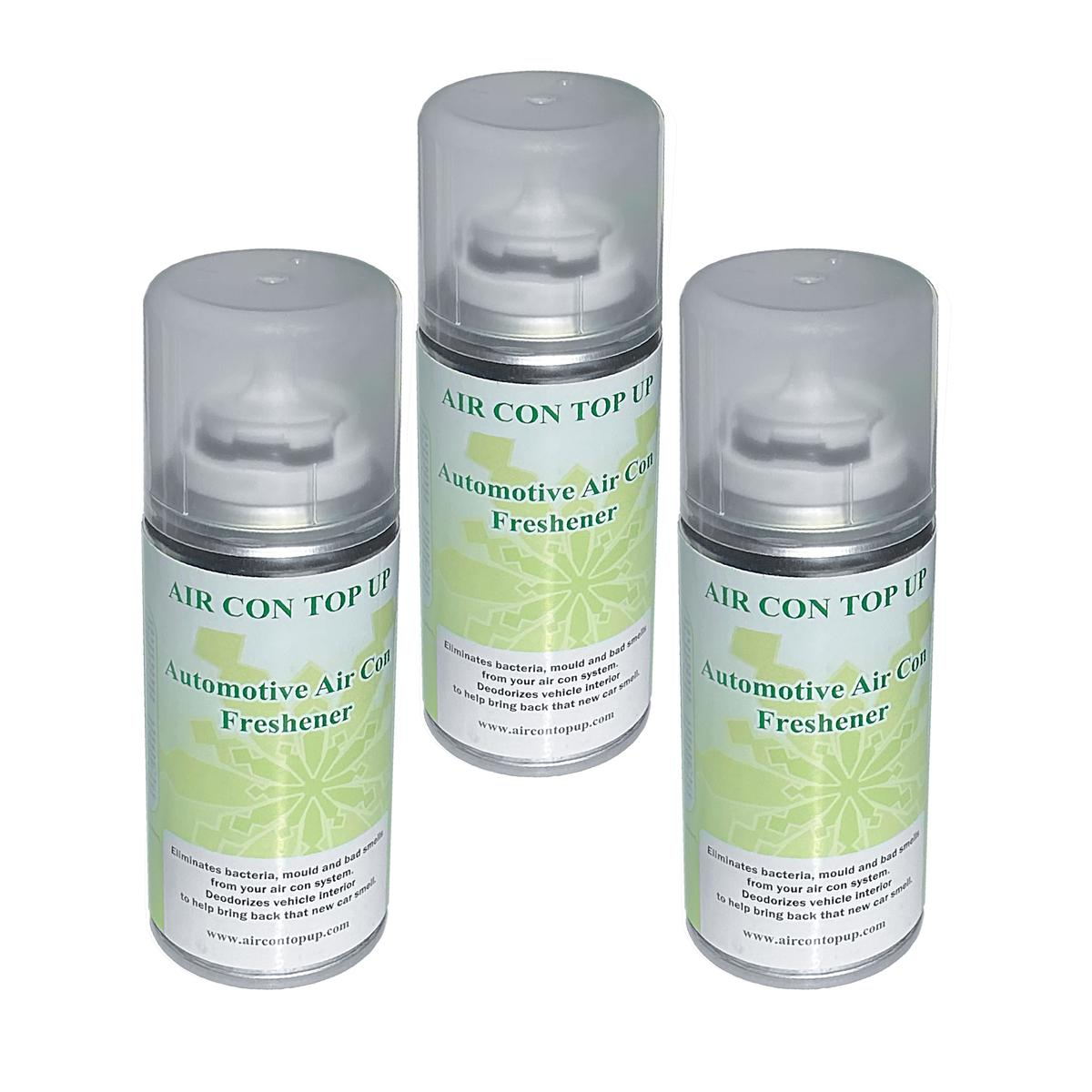 Car AC Aircon Cleaner Air Con Bacteria Stop Fungus Remover Sanitise Sanitiser x3