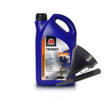 Millers Fully Synthetic 5W40 Turbo Charged 5 Litre Engine Oil + Funnel