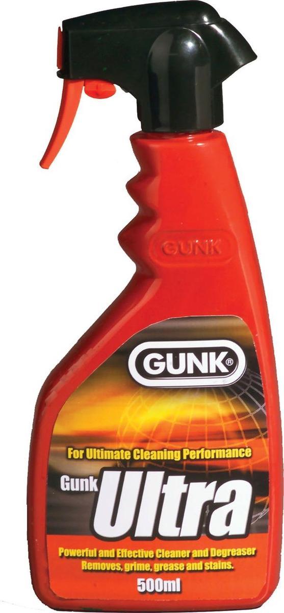 Gunk Ultra Degreaser Engine Oil Remover Cleaner Car Van 601 500ml Single