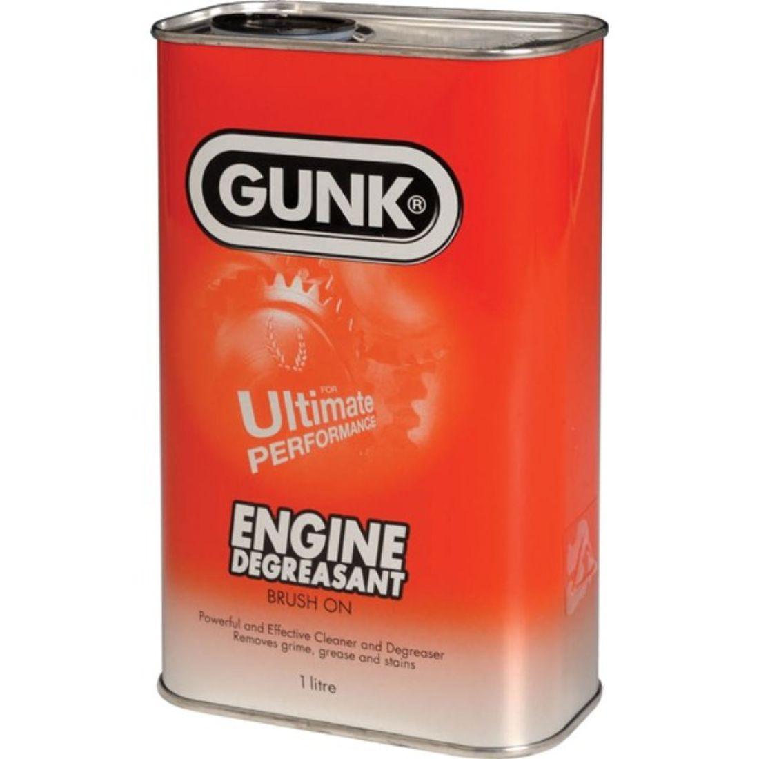 Gunk Ultra Degreaser Engine Oil Remover Cleaner Car Van Gunk 7331L 1 Litre