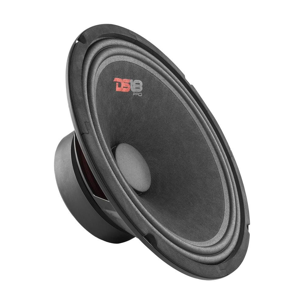 "DS18 PRO-GM10.4 In Car Audio Mid Range Bass 10"" Inch 660 Watt 4 Ohm Speaker"