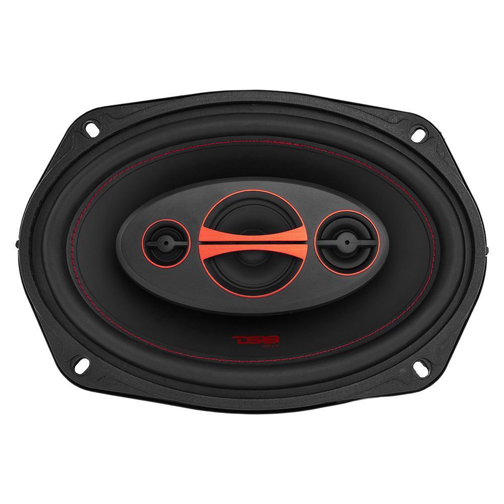 DS18 Car Coaxial Speakers 6x9 180w Watt 4Ohm 3 Way GEN-X6.9 Pair