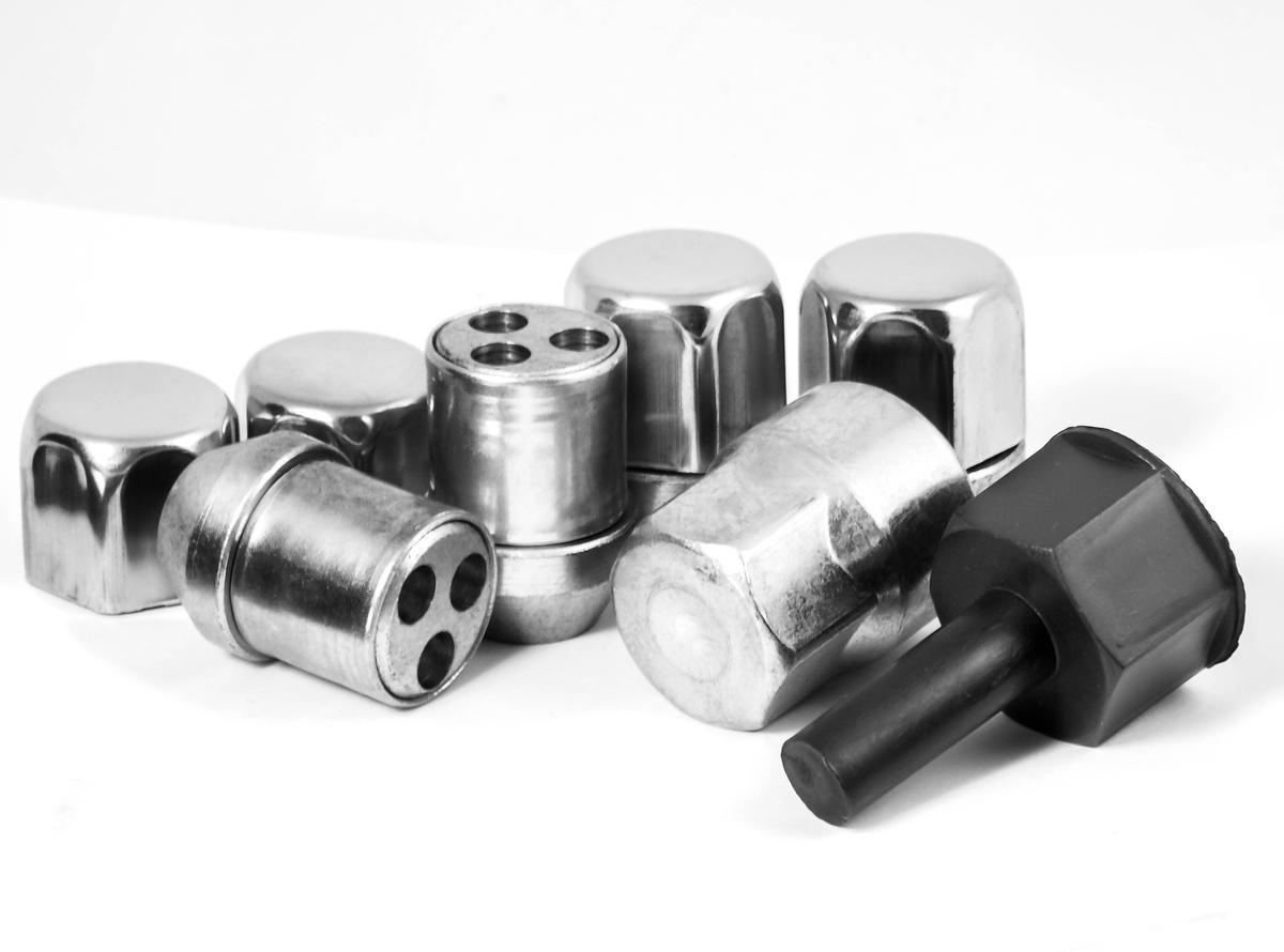 Nissan Navara 14- Trilock CGG Automotive High Security Locking Wheel Nuts Set