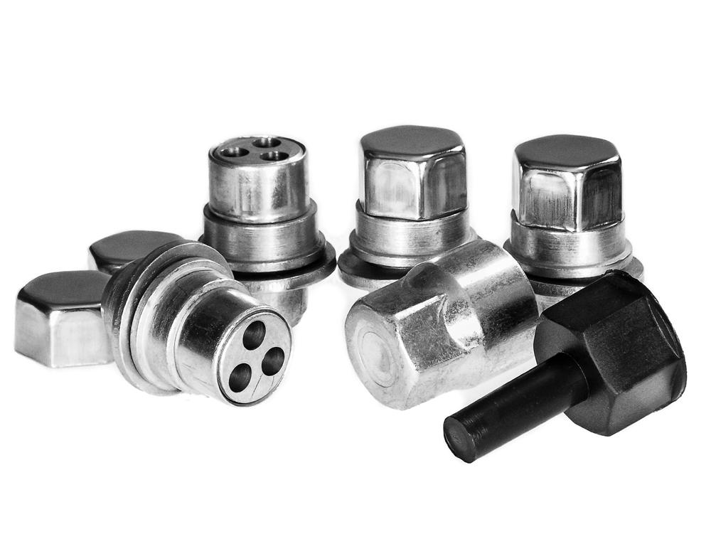 Toyota iQ 08- Trilock CHB Automotive High Security Locking Wheel Nuts Set