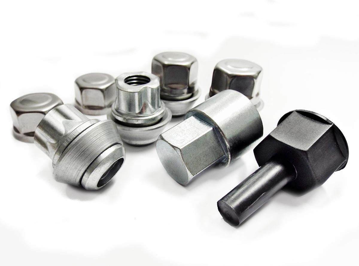 Ford C-MAX 04- Trilock FHO/B Automotive High Security Locking Wheel Nuts Set