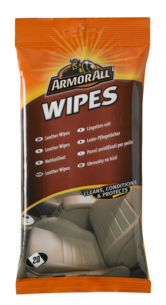 Leather Cleaning Wipe Away Car Detailing Armorall 39020ML 20 Pack