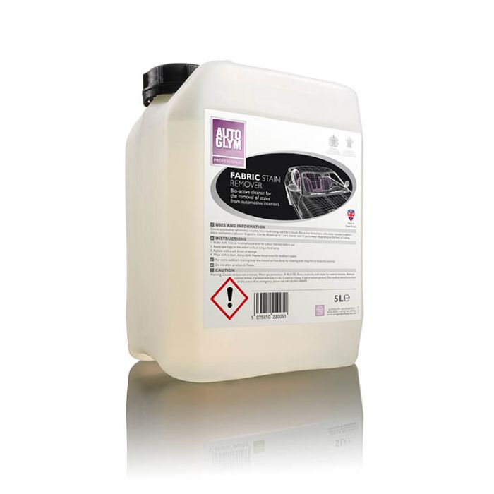 Autoglym Fabric Stain Remover 22005 Car Detailing Valeting 5 Litre Single