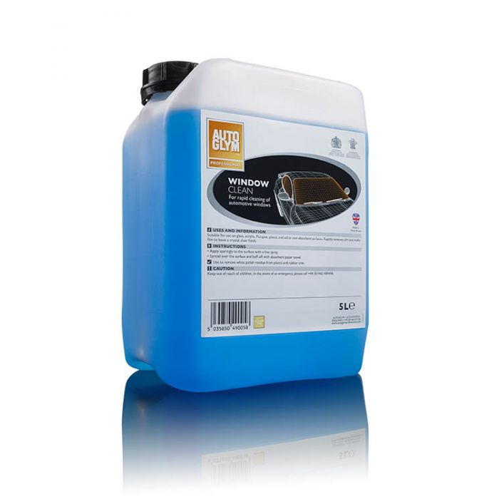 Autoglym Window Clean 49005 Protection Car Detailing Valeting 5 Litre Single